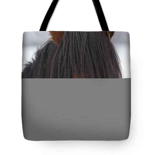 Haircut Needed Tote Bag by Mike  Dawson