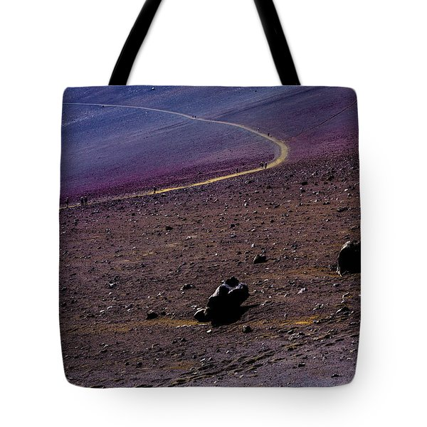 Tote Bag featuring the photograph Haleakala 2 by M G Whittingham