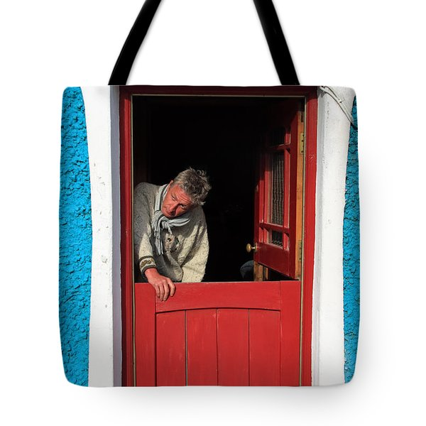 Half Door Tote Bag by Aidan Moran