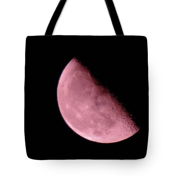 Half The Moon  Tote Bag by Jeff Swan