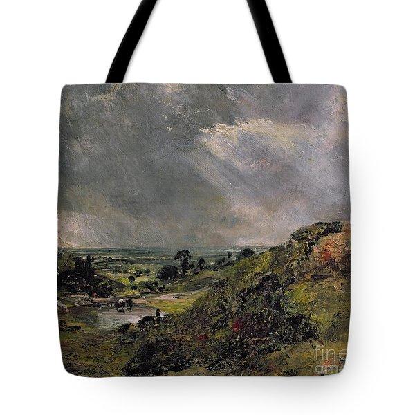 Hampstead Heath Tote Bag by John Constable