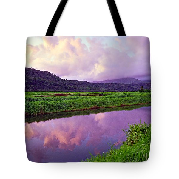 Hanalei Dawn Tote Bag by Kevin Smith