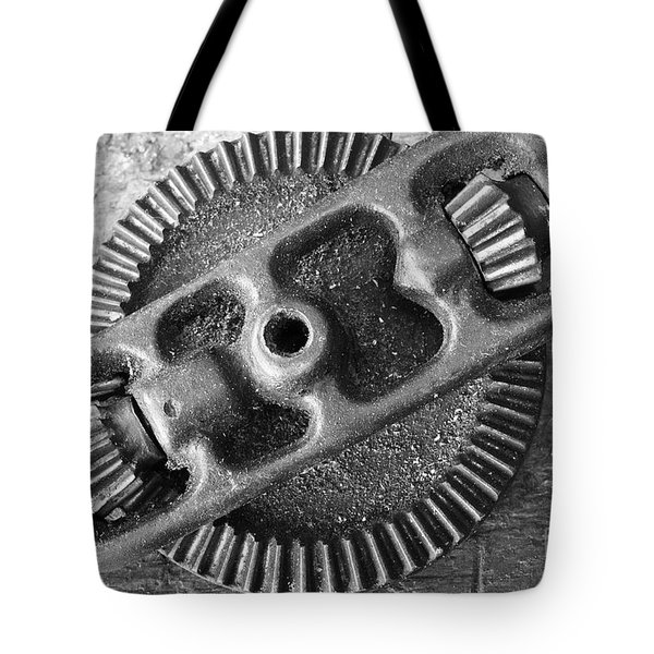 Hand drill closeup Tote Bag by Gaspar Avila