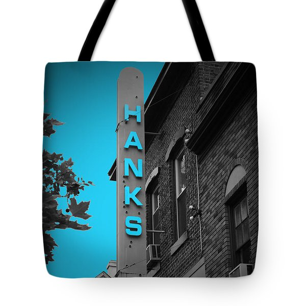Hanks Oyster Bar Tote Bag by Jost Houk