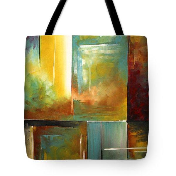 Haphazardous II by MADART Tote Bag by Megan Duncanson