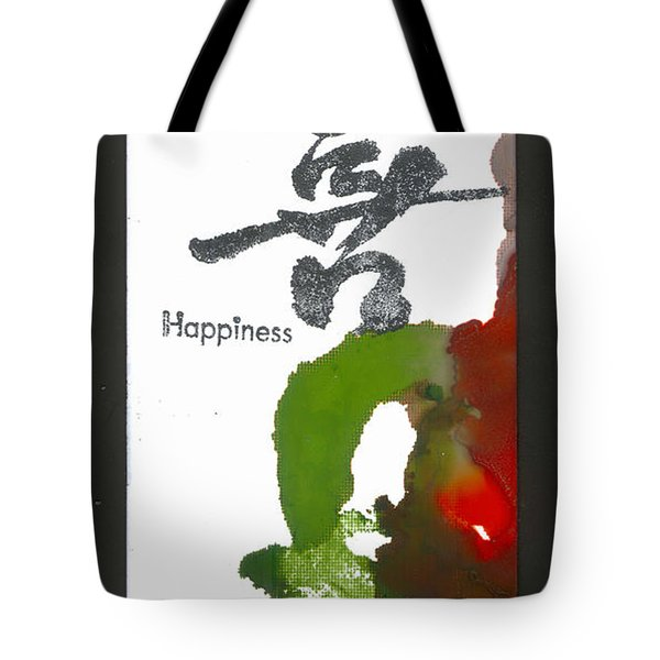 Happy Tote Bag by Angela L Walker