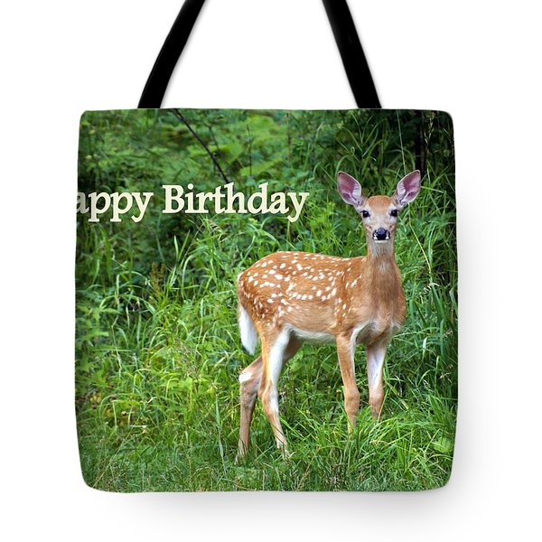 Happy Birthday 1 Tote Bag by Marty Koch