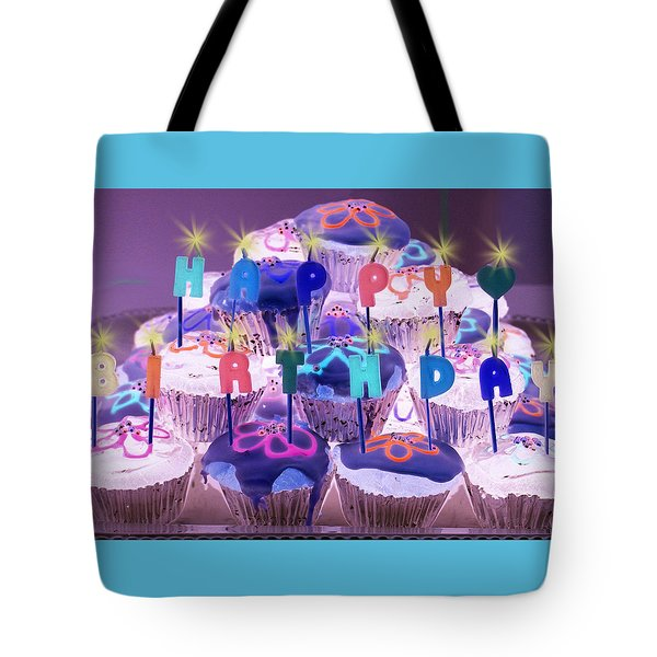 Happy Birthday Tote Bag by Holly Kempe