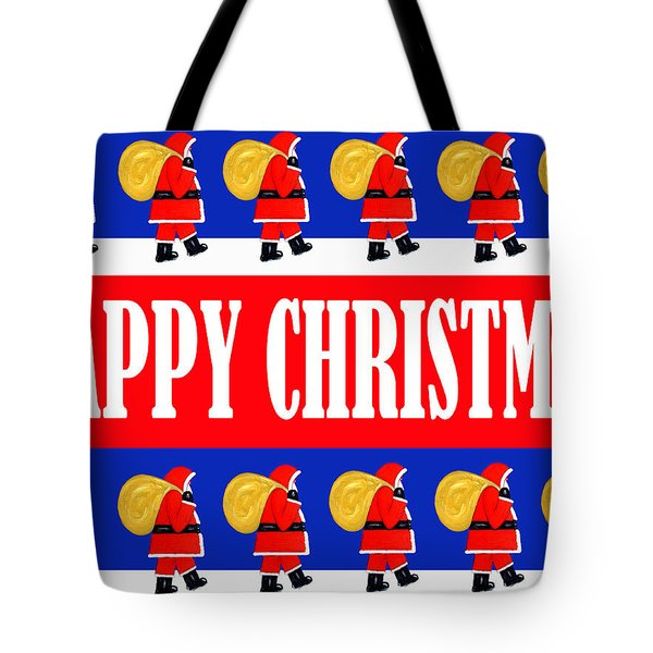 Happy Christmas 26 Tote Bag by Patrick J Murphy