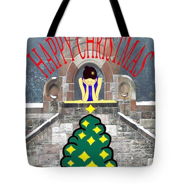 HAPPY CHRISTMAS 31 Tote Bag by Patrick J Murphy