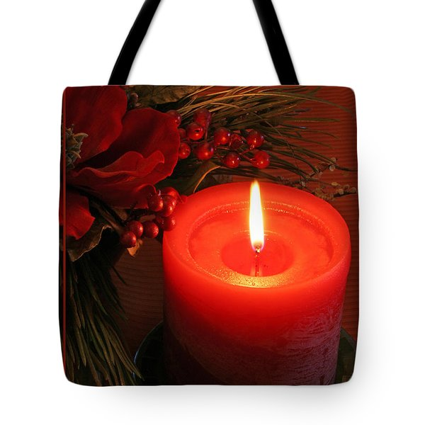 Happy Holidays #1 Tote Bag by Teresa Zieba
