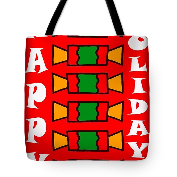 HAPPY HOLIDAYS 7 Tote Bag by Patrick J Murphy
