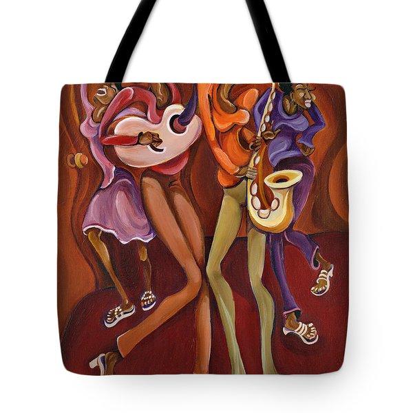 Happy Hour Tote Bag by Sharika Mahdi