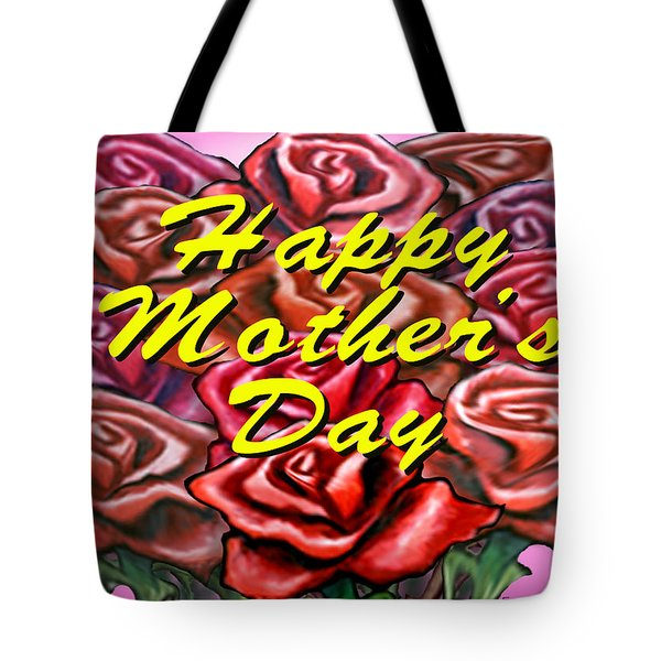 Happy Motherer's Day Tote Bag by Kevin Middleton