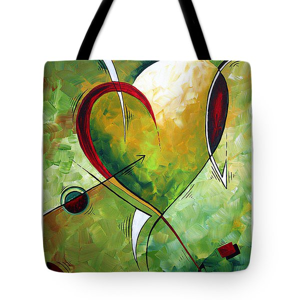 Happy Mother's Day by MADART Tote Bag by Megan Duncanson