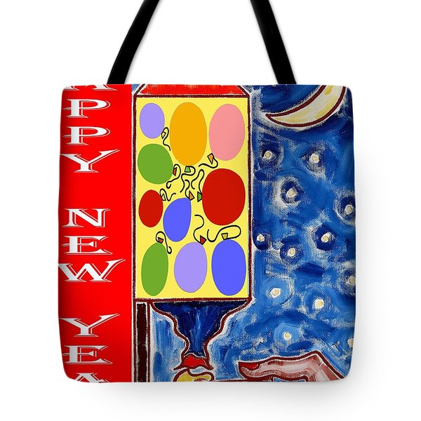 Happy New Year 47 Tote Bag by Patrick J Murphy
