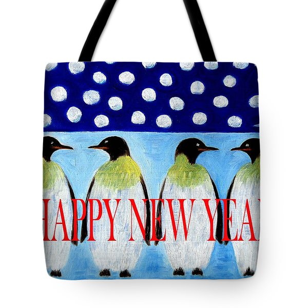 Happy New Year 5 Tote Bag by Patrick J Murphy