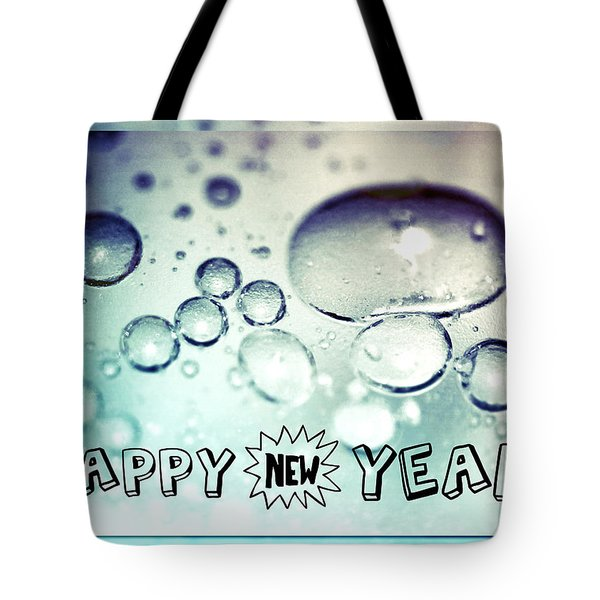 Happy New Years Tote Bag by Lisa Knechtel
