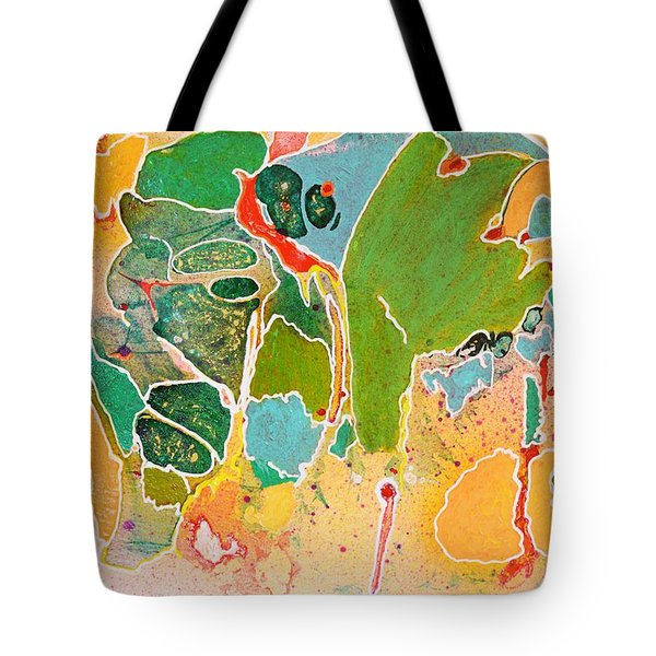 Happy Spirits Tote Bag by Marianne Davidow