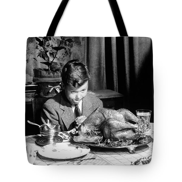 Happy Thanksgiving Tote Bag by American School