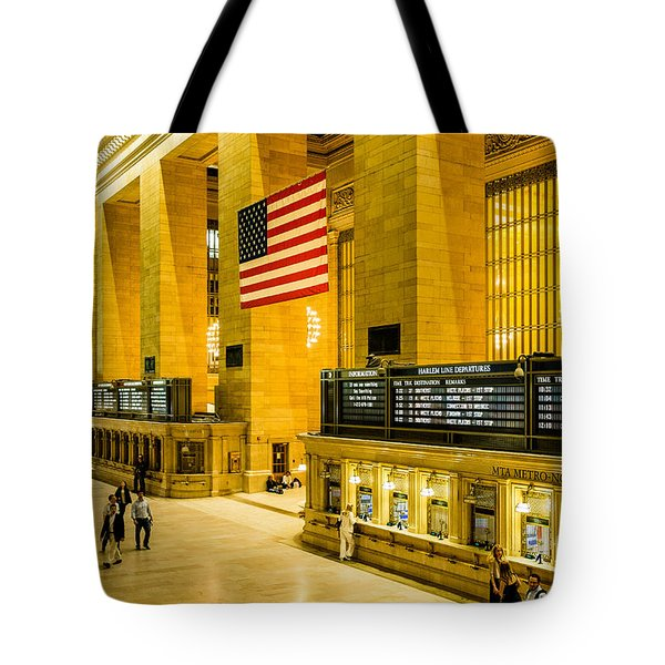 Tote Bag featuring the photograph Grand Central Pride by M G Whittingham
