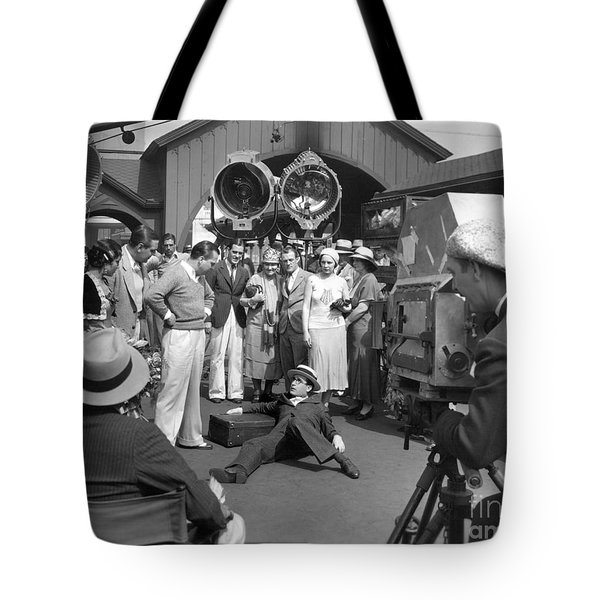 Harold Lloyd (1893-1971) Tote Bag by Granger