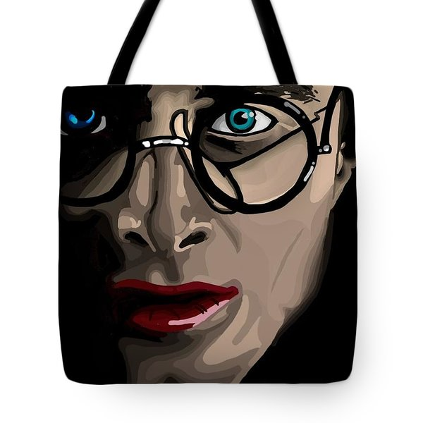 Harry Tote Bag by Lisa Leeman