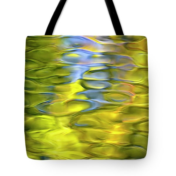 Harvest Gold Mosaic Tote Bag by Christina Rollo