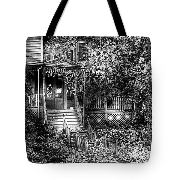 Haunted - Abandoned Tote Bag by Mike Savad