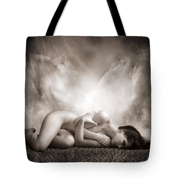 Haunted Tote Bag by Photodream Art