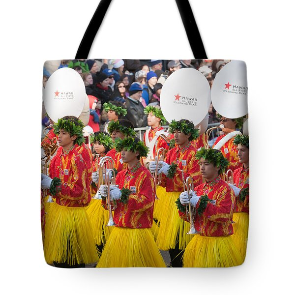 Hawaii All-state Marching Band I Tote Bag by Clarence Holmes