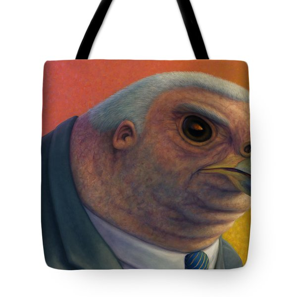 Hawkish Tote Bag by James W Johnson