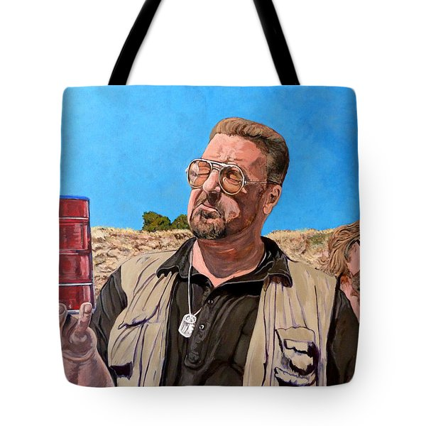 He Was One Of Us Tote Bag by Tom Roderick