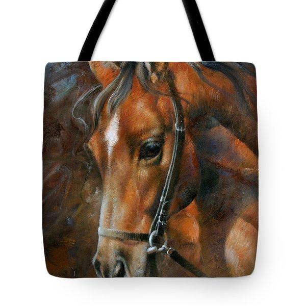 Head Horse Tote Bag by Arthur Braginsky