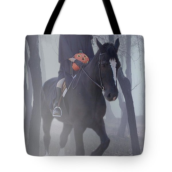 Headless Horseman Tote Bag by Christine Till