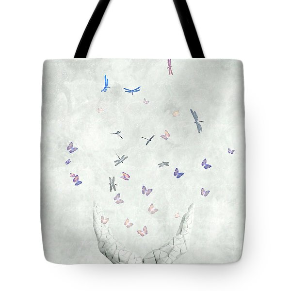 Heal Tote Bag by Jacky Gerritsen