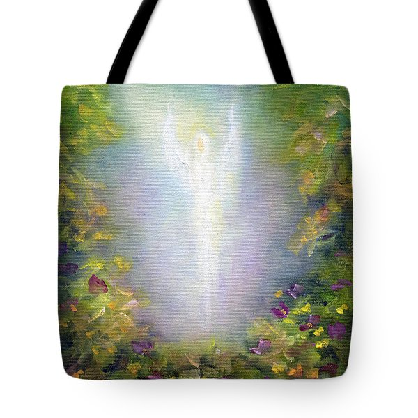 Healing Angel Tote Bag by Marina Petro