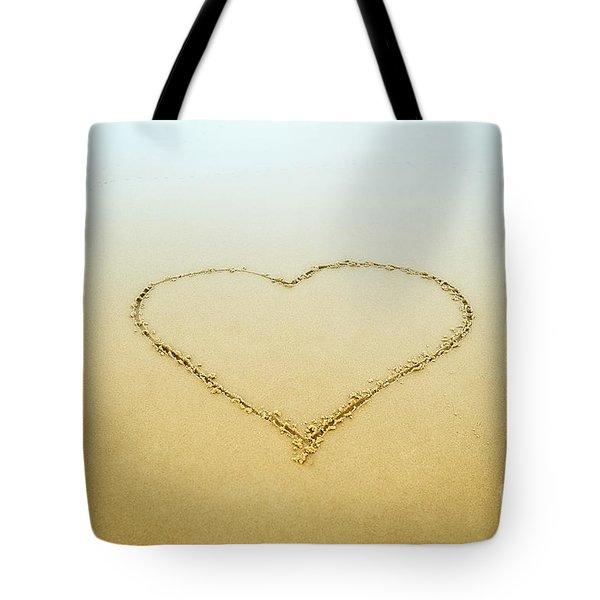 Heart Tote Bag by John Greim