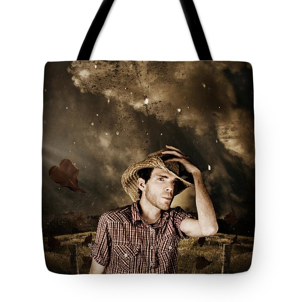 Heartland Of Outback Country Australia Tote Bag by Ryan Jorgensen