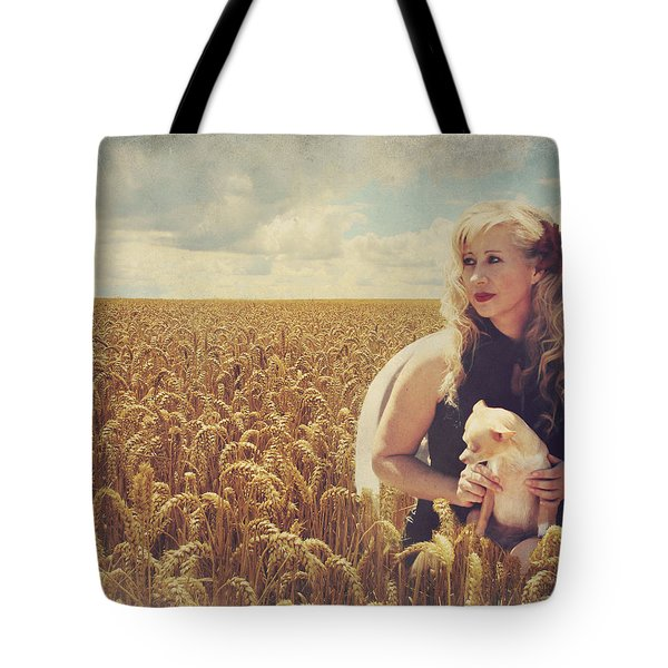 Hearts and Thoughts They Fade....Fade Away Tote Bag by Laurie Search