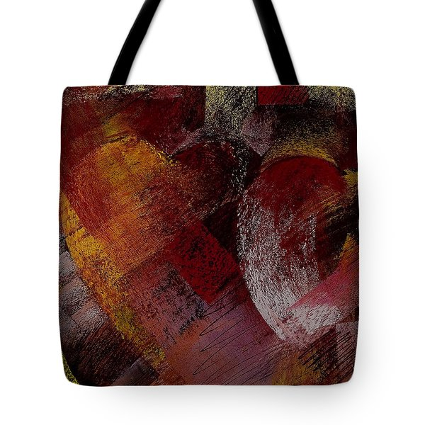 Hearts Tote Bag by David Patterson