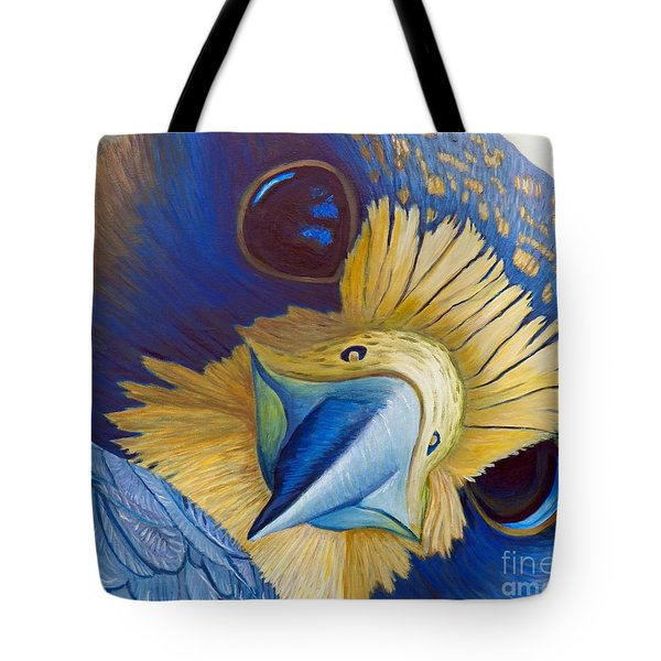 Heaven And Earth Tote Bag by Brian  Commerford