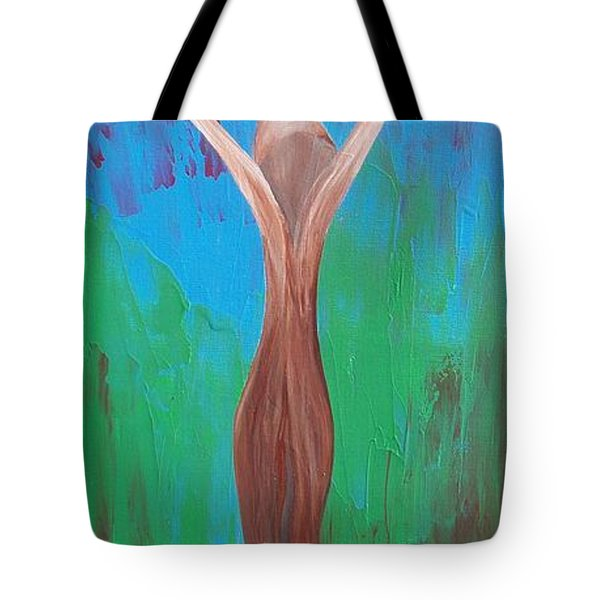 HEAVEN AND EARTH Energy Collection Tote Bag by CATT KYRIACOU