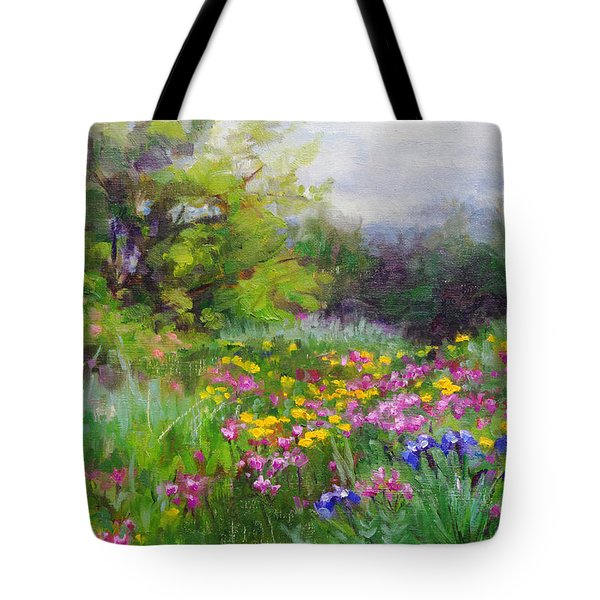 Heaven Can Wait Tote Bag by Talya Johnson