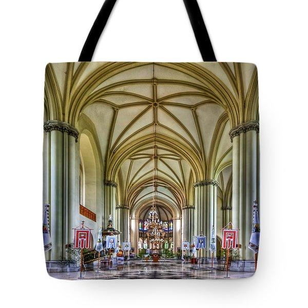 Heavenly Tote Bag by Evelina Kremsdorf