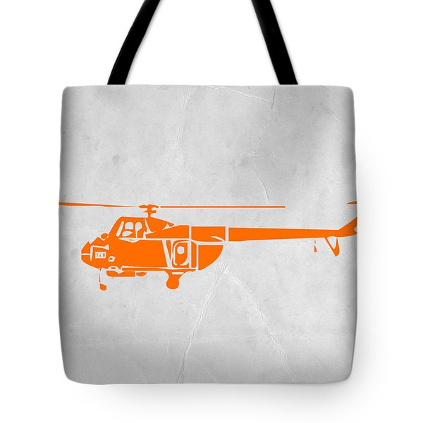 Helicopter Tote Bag by Naxart Studio