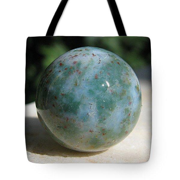 Heliotrope sphere Tote Bag by Andonis Katanos