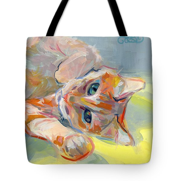 Hello Kitty Tote Bag by Kimberly Santini