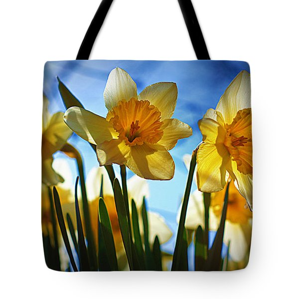 Hello Spring Tote Bag by Cricket Hackmann