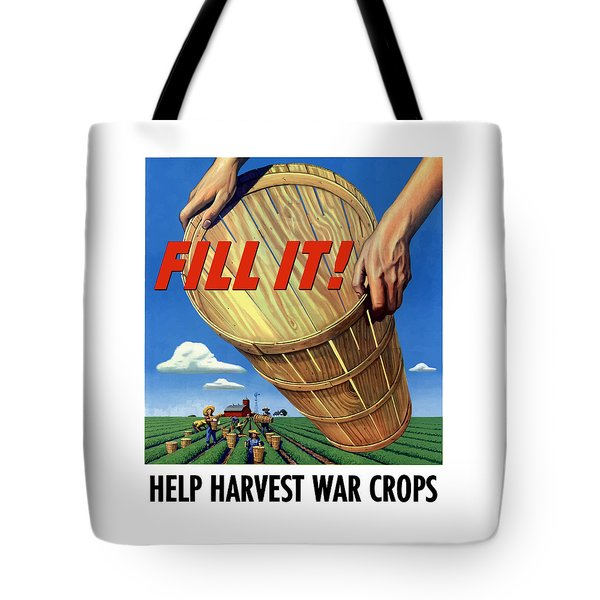 Help Harvest War Crops Tote Bag by War Is Hell Store